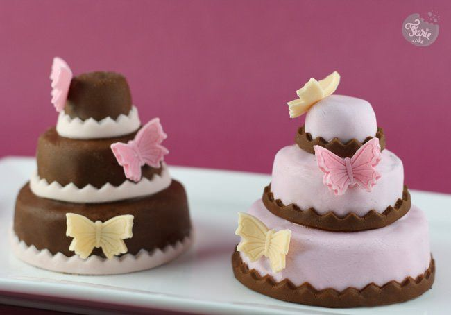 Mini gâteaux à étages