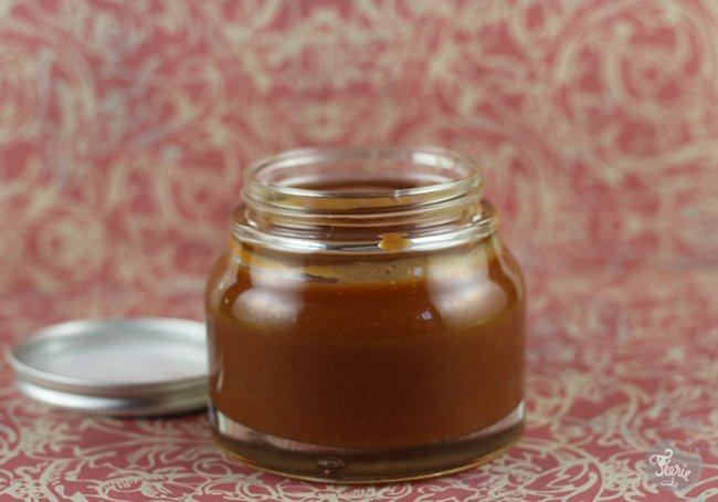 Crème au beurre au caramel salé