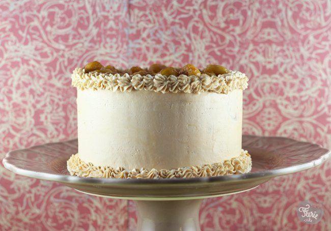 gâteau à la banane et buttercream caramel