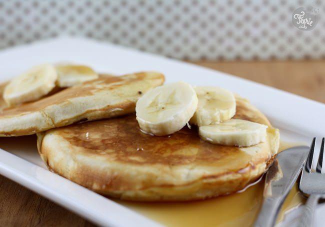 Dimanche matin, c'est pancakes!