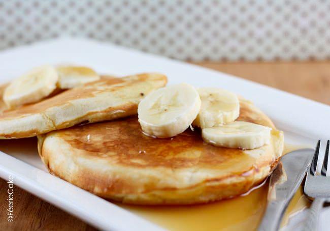 Recette de pancakes simple à réaliser, parfaite pour un petit déjeuner