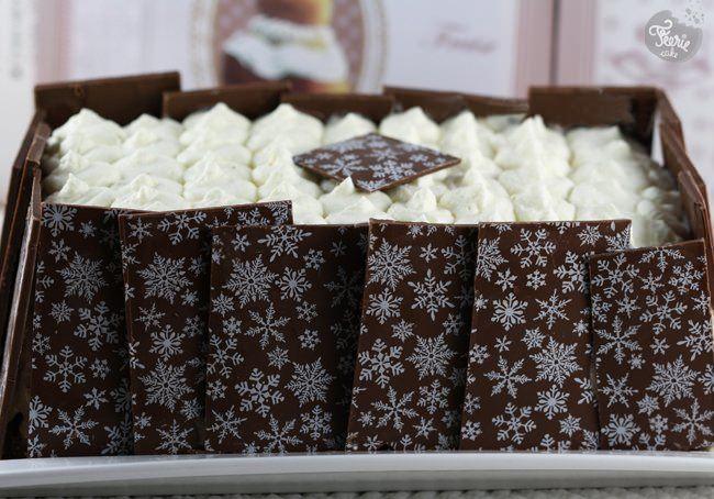 Bûche aux 3 chocolats...et plus encore.