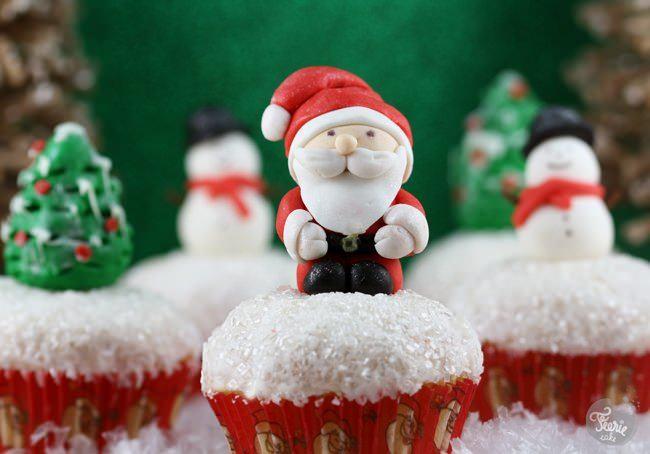 Cupcakes J-2 avant l'arrivée du Père Noël !