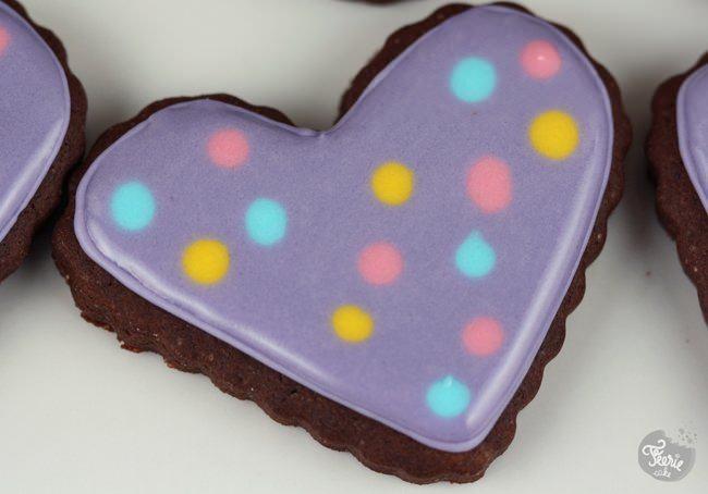 Sugar cookies au chocolat