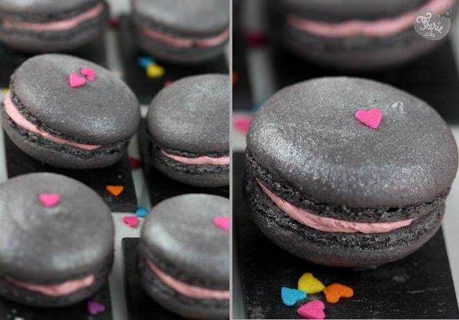 macarons st valentin montage