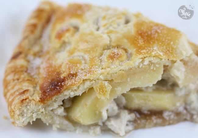 tartes aux pommes poires slice