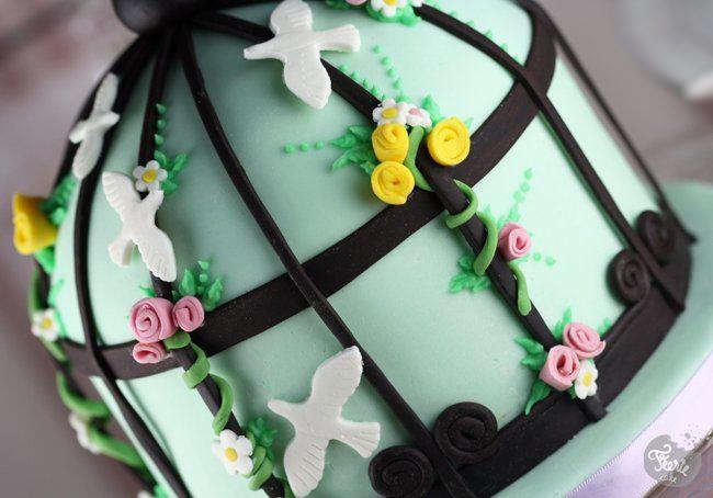 birdcage cake 1
