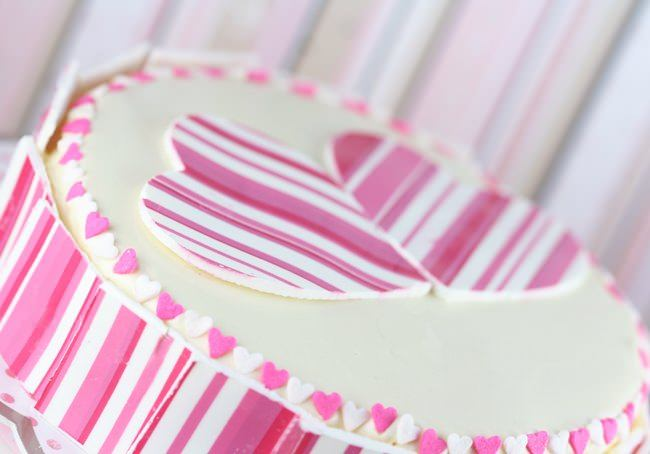 Entremet fraise-passion top girly!