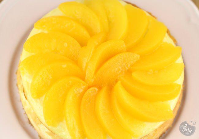 cheesecake peche 1