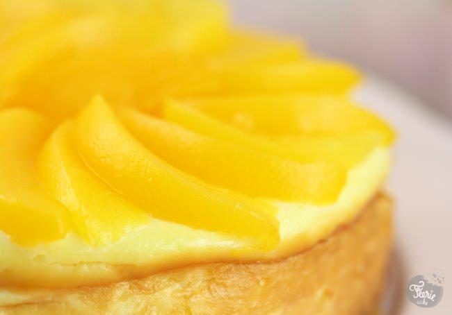 cheesecake peche 2