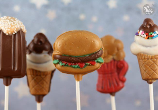Ce soir c'est junk food cake pops!