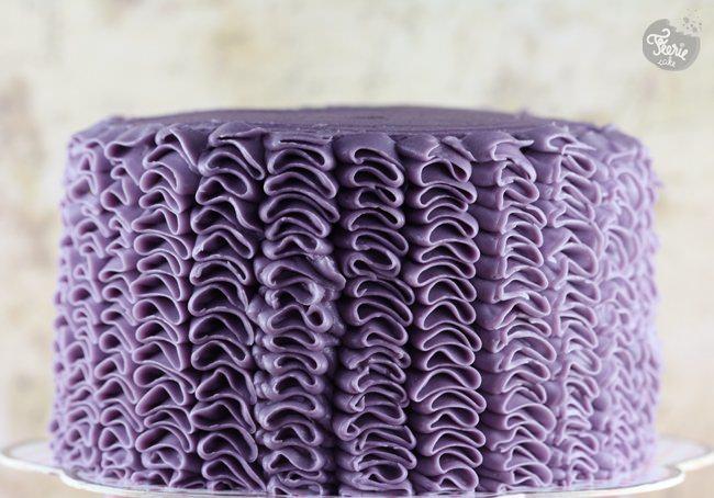 Un gâteau à froufrous