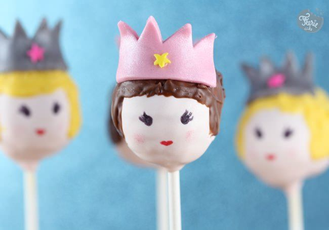 Cake pops et princesses