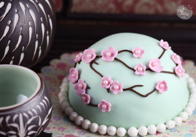 Un petit gâteau japonisant