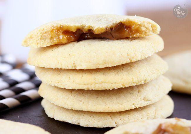 cookies fourres caramel 1
