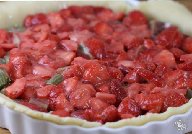 tarte fraise rhubarbe 4