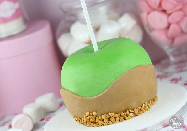 Friandise et pomme d'amour