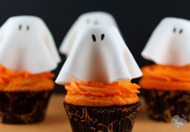 """Cupcakes """"les fantômes"""""""