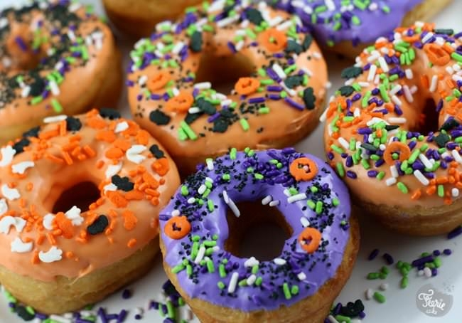 Chouette! Des donuts!