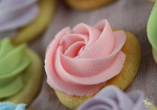 sugar cookies Bouquet de roses 2