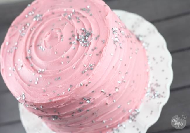 Un gâteau à la vanille