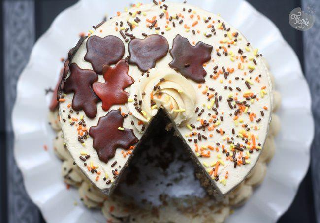 Un gâteau d'automne