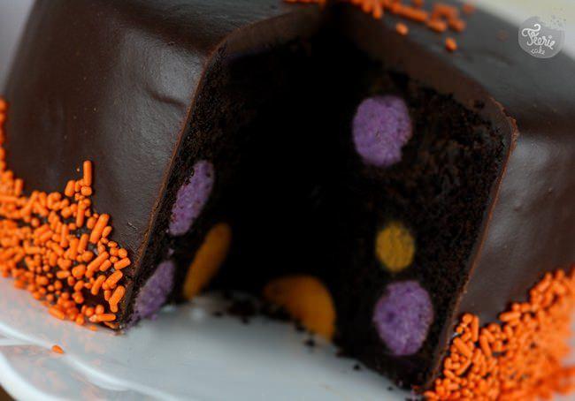 Un gâteau cake balls surprise !