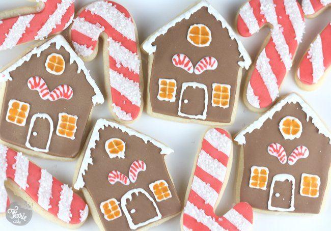 Les biscuits décorés pour Noël