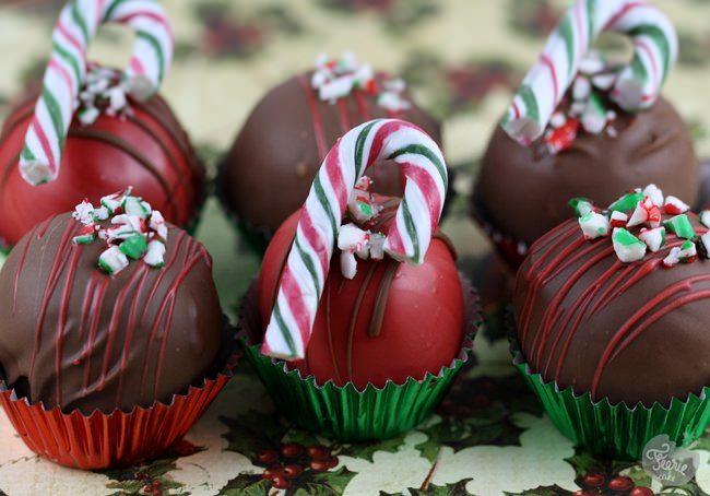 Des cakes balls chocolat-menthe