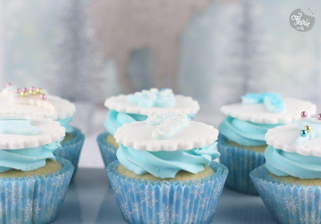 cupcakes noel en bleu 3