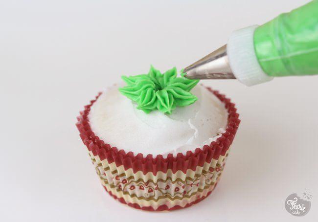 cupcakes sapin de noel 1