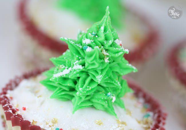 cupcakes sapin de noel 4