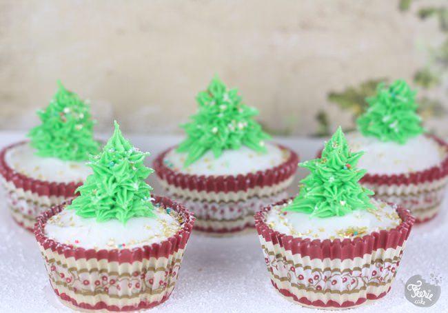 cupcakes sapin de noel 5