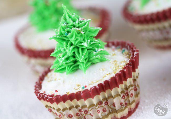 Deco Sapin De Noel Cupcake