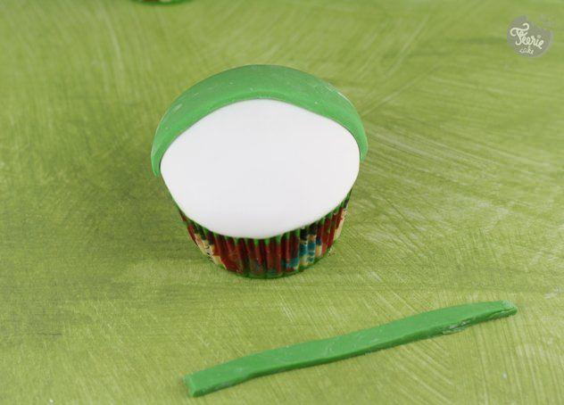 cupcakes bonhomme de neige3