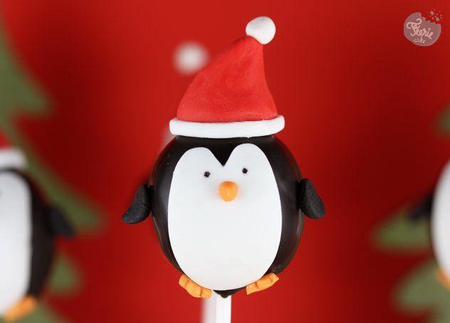 Des petits pingouins cake pops