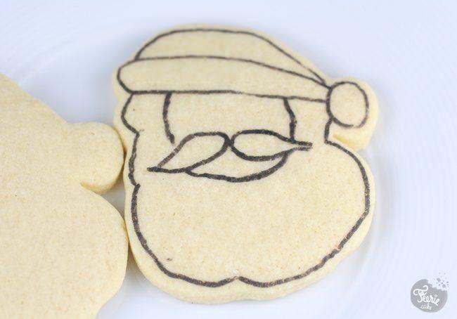 biscuits pere noel 1