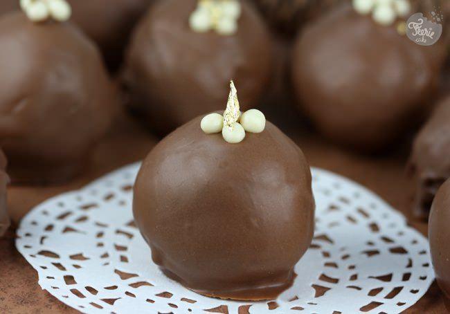 Bouchées à la mousse au chocolat praliné