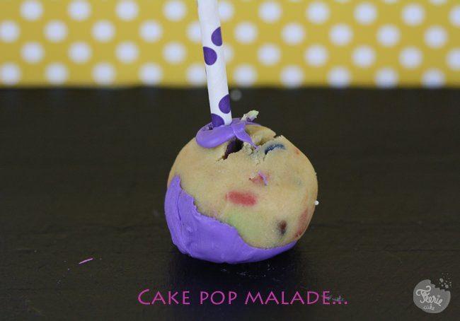 cake pop malade