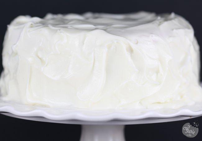 white mud cake xmas 1