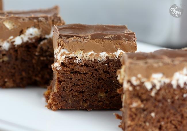 Brownie au beurre de cacahu tes f erie cake - Gateau beurre de cacahuete ...