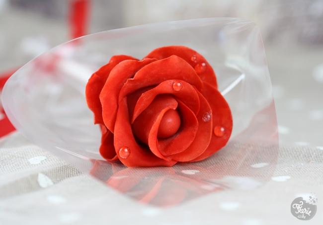 Cake pops roses
