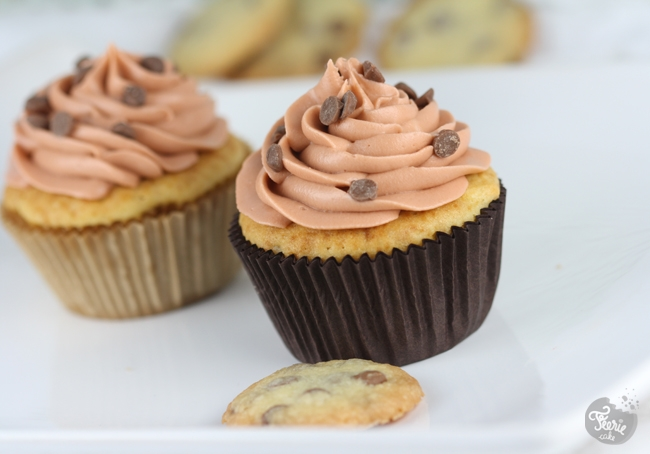 Cupcakes aux cookies