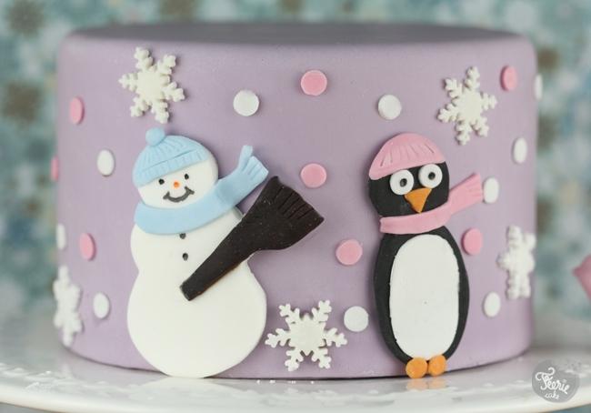 Un gâteau hivernal
