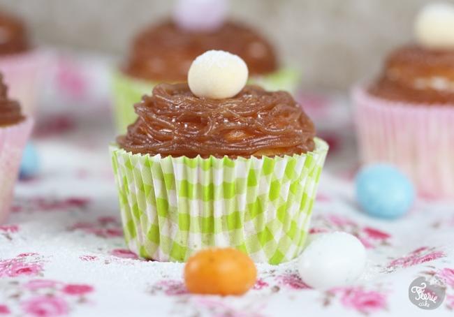 Cupcakes façon Mont-Blanc pour Pâques