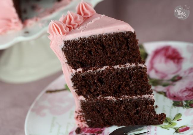 Recette De Ganache Pour Cake Design : Gateau au chocolat glacage a la ganache chocolat blanc ...