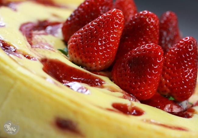 cheesecake choco blanc fraise0