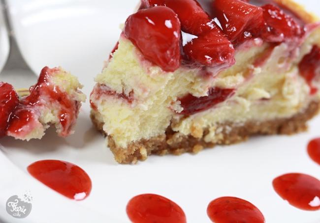 cheesecake marbré fraise2