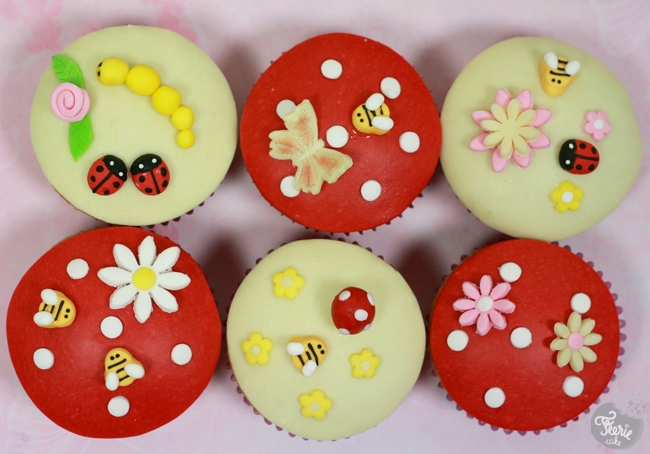 "Cupcakes ""un air de printemps"""