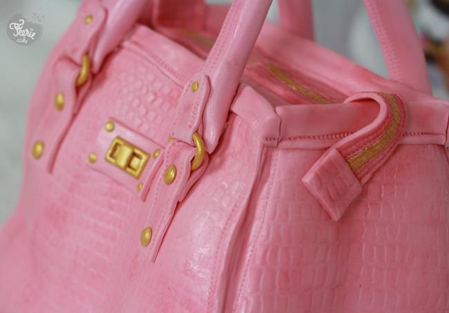 designer bag cake2